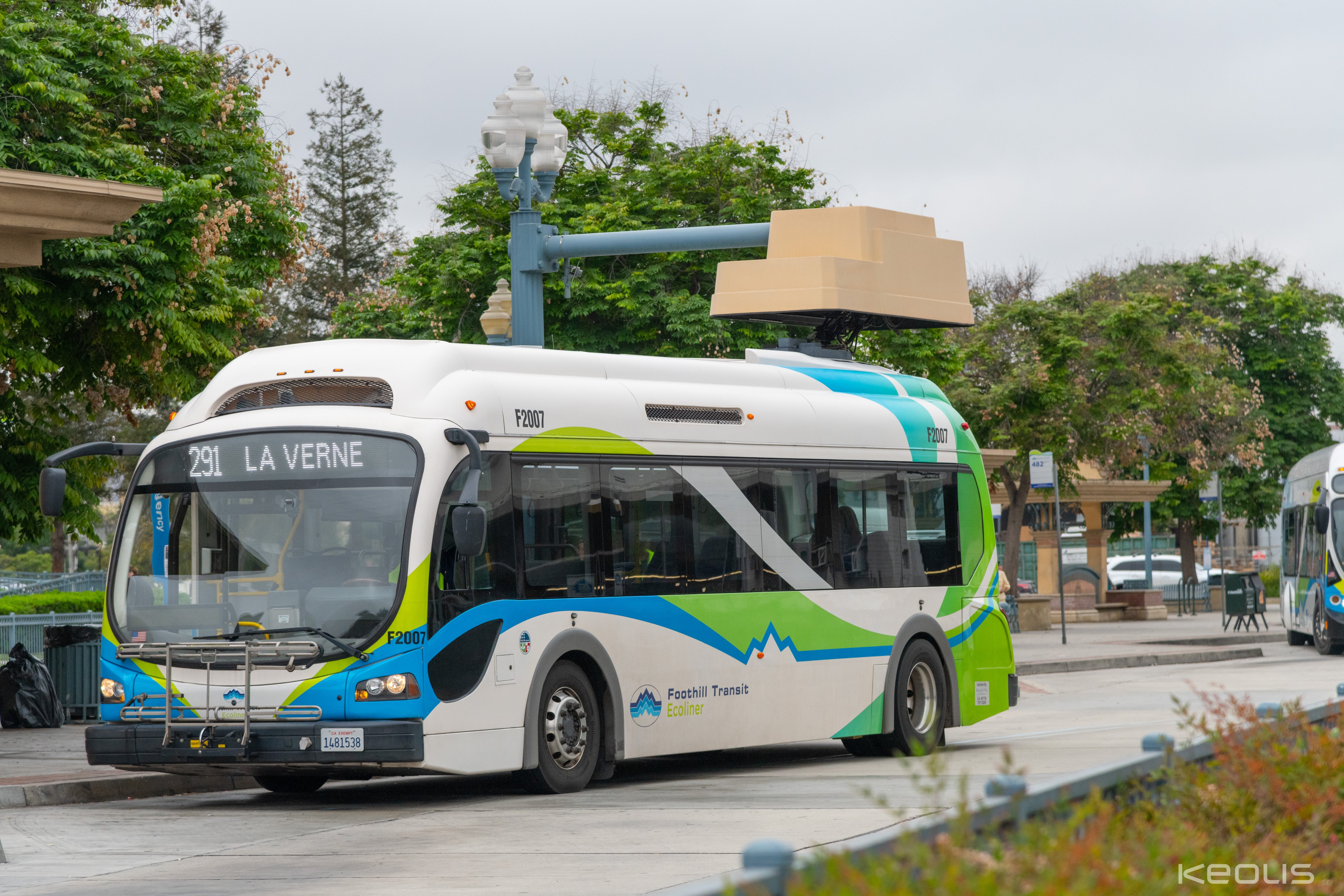 Foothill_Bus_Electric Charging